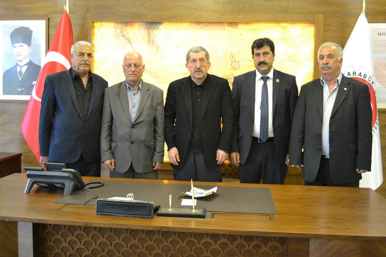 Cumayanı Köyü Muhtarı Bozkurt'tan Başkan Vergili´ye Ziyaret