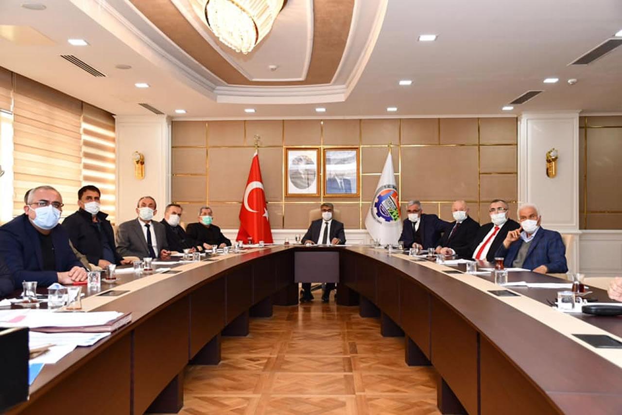 KARÇEV Olağan Meclis Toplantısı Vali Gürel Başkanlığında Gerçekleştirildi