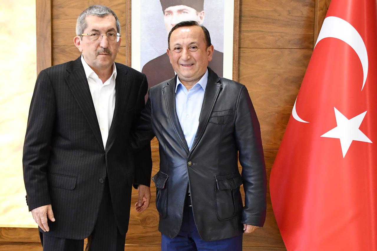 CHP Karabük Milletvekili Aksoy'dan Başkan Vergili'ye Hayırlı Olsun Ziyareti