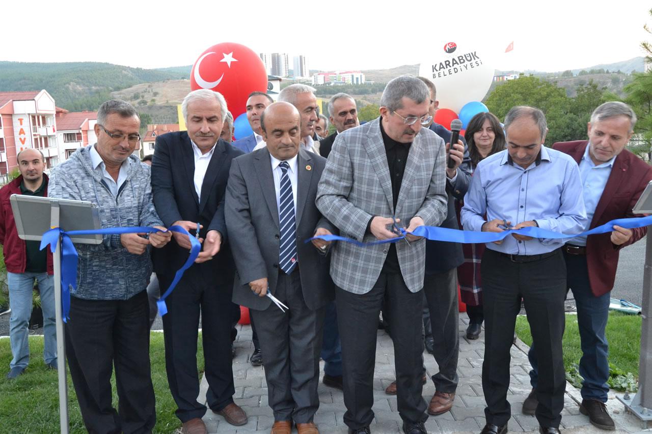 Kılavuzlar Parkı Hizmete Açıldı