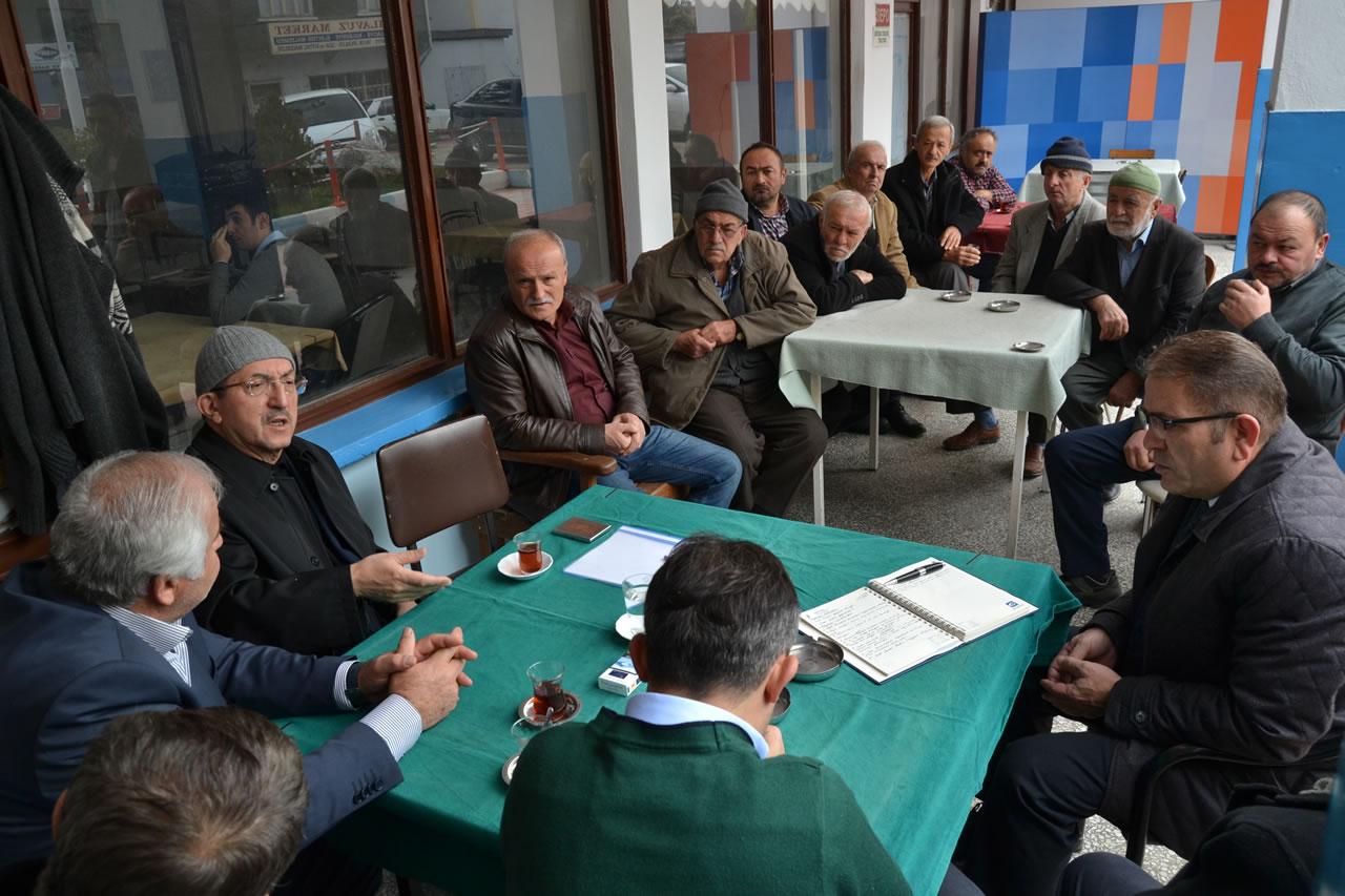 Kılavuzlar Köyüne Hizmet 2 Yıl Önceden Gelmeye Başladı