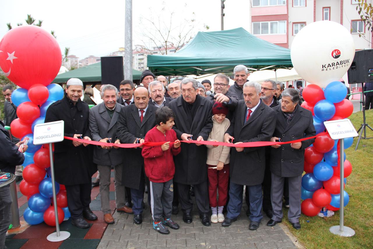 116. Park 5000 Evler Mahallesinde Hizmete Açıldı