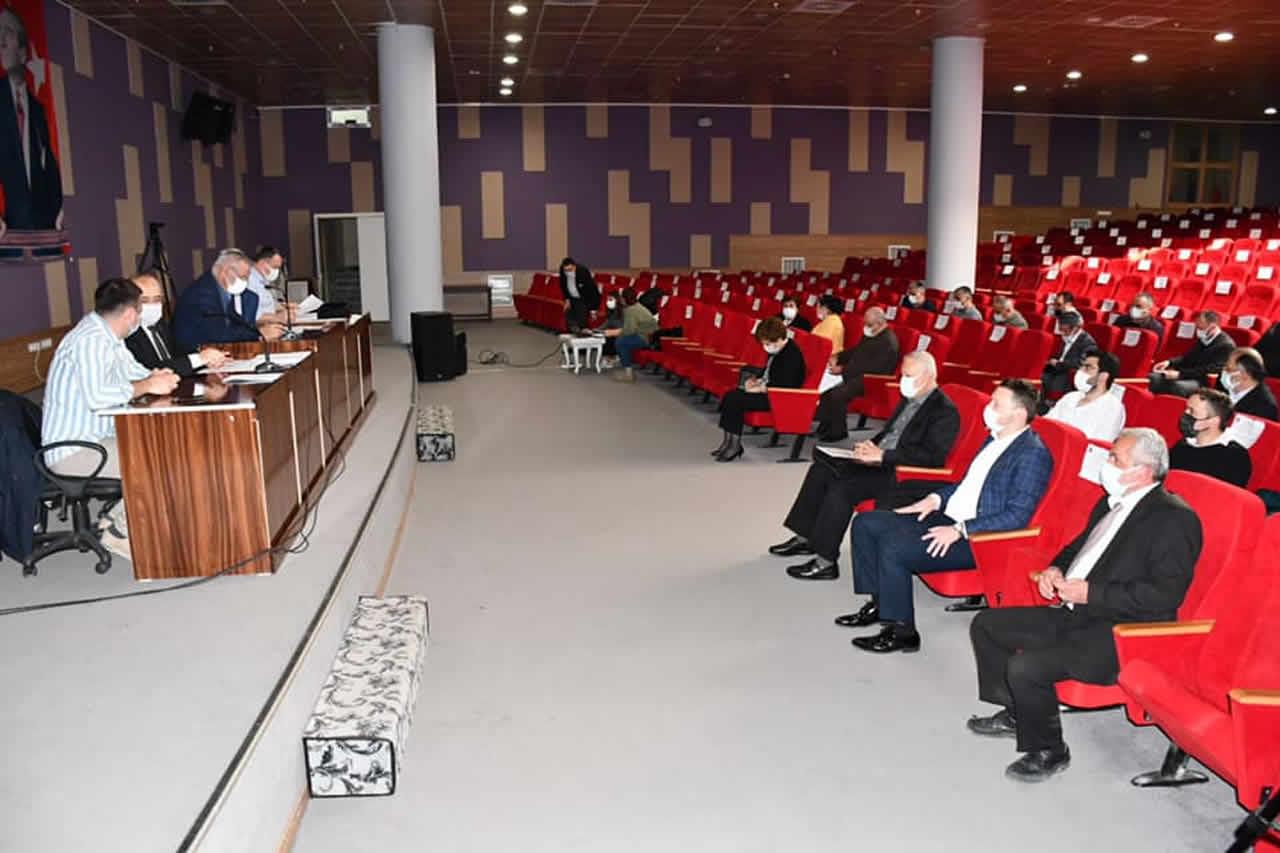 Nisan Ayı Belediye Meclis Toplantısı Gerçekleştirildi