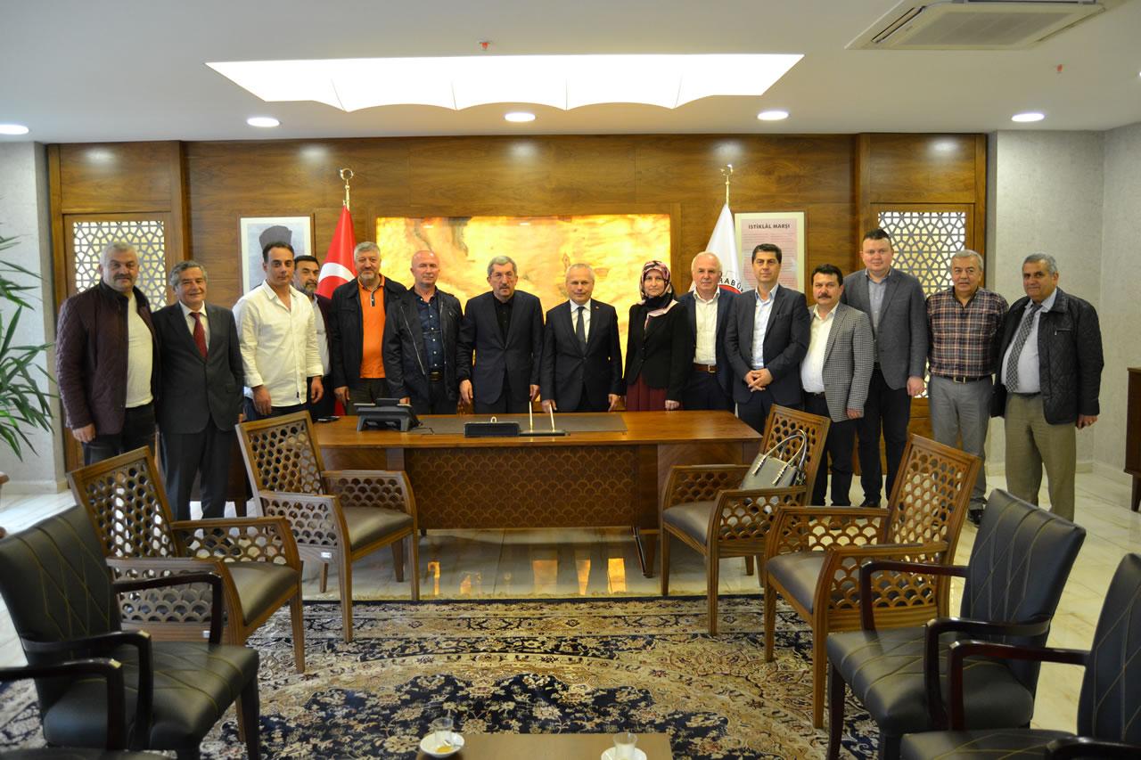 AK Parti Karabük Milletvekili Aday Adayı Ceylan´dan Başkan Vergili´ye Ziyaret