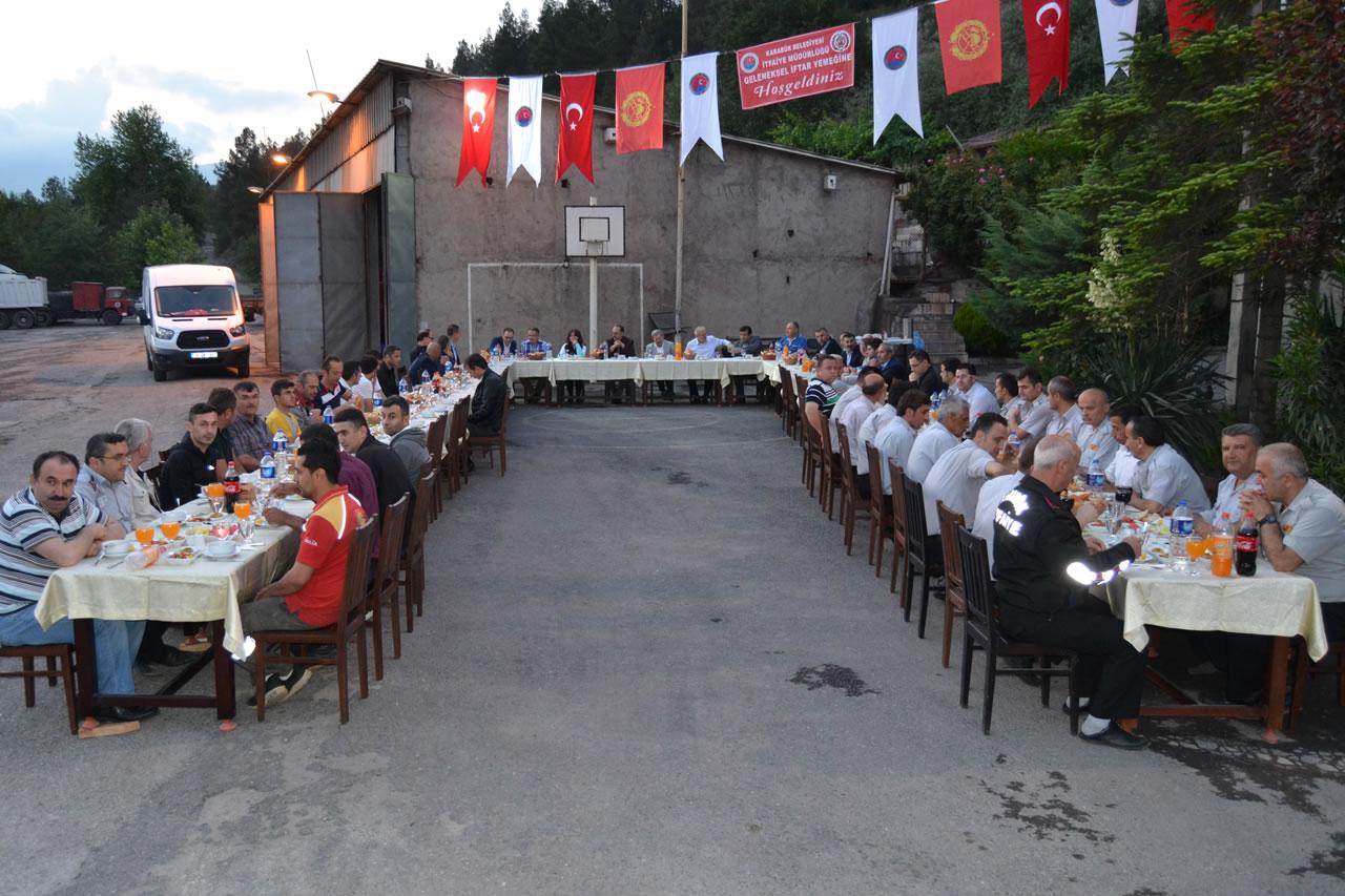 Başkan Vergili İtfaiye Müdürlüğü'nün Düzenlediği İftar Yemeğine Katıldı