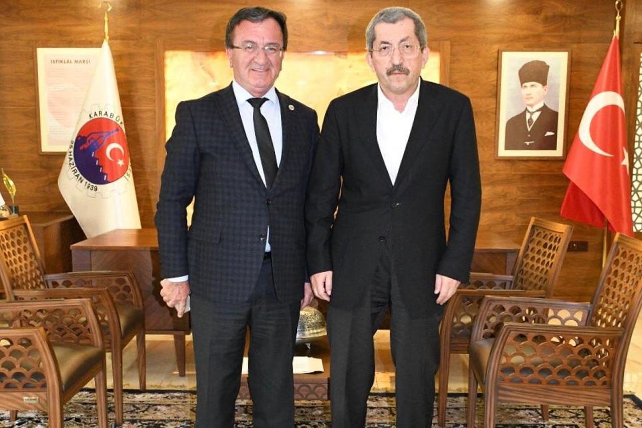 Araç Belediye Başkanı Sarıkaya'dan Başkan Vergili'ye Ziyaret