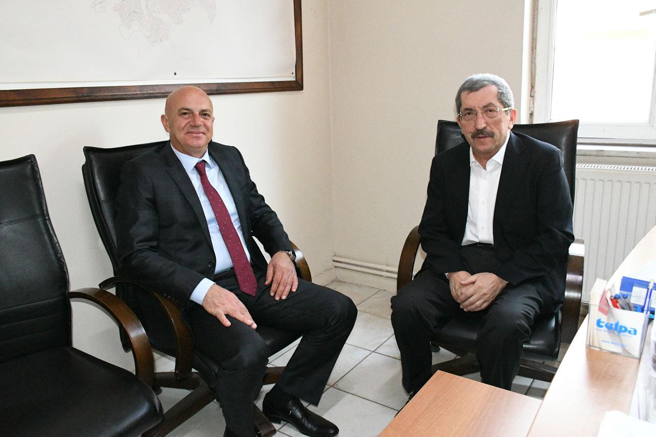 POMEM Müdürlüğüne Atanan Çoban'dan Başkan Vergili'ye Ziyaret