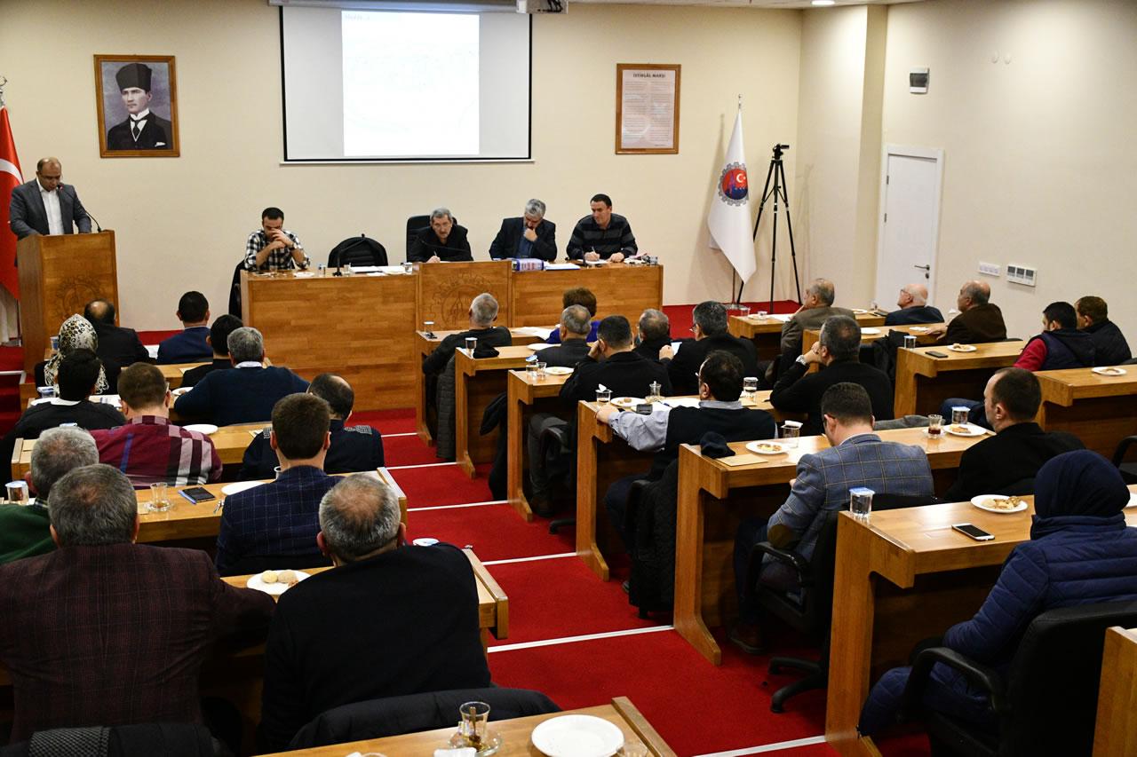 Yeni Yılın İlk Belediye Meclis Toplantısı Gerçekleştirildi
