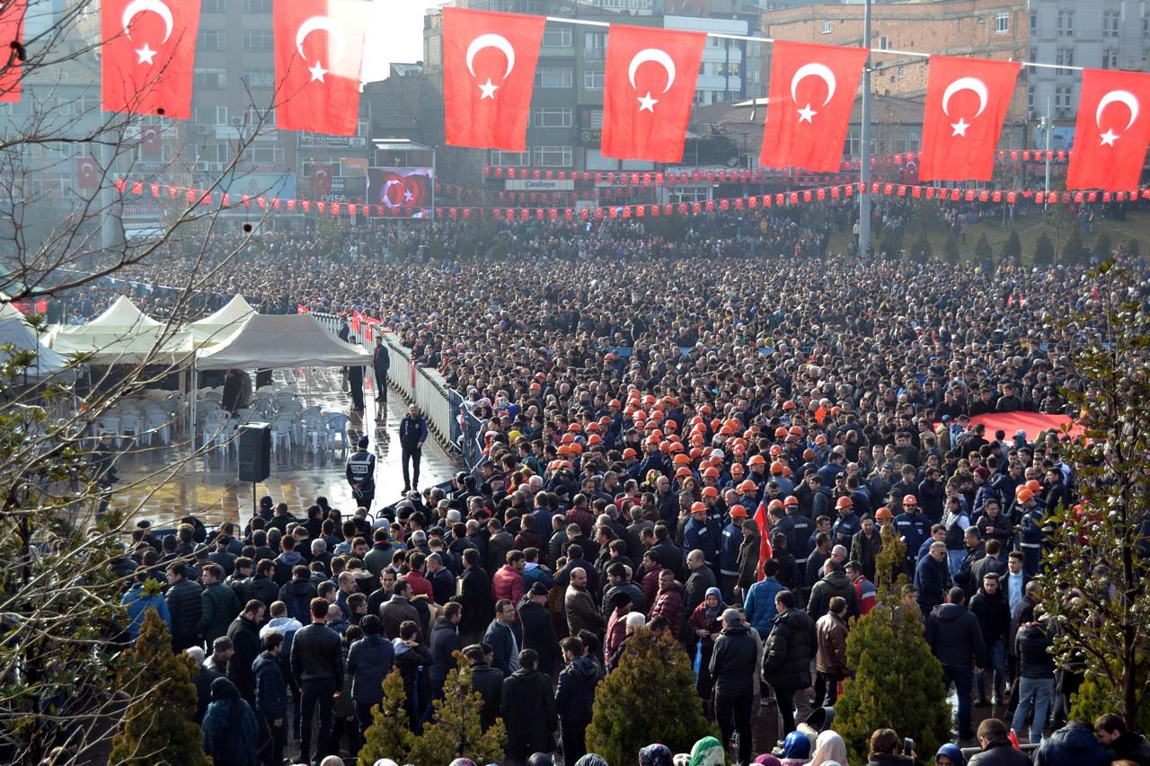 Afrin Şehidimiz Akpınar, Son Yolculuğuna Uğurlandı