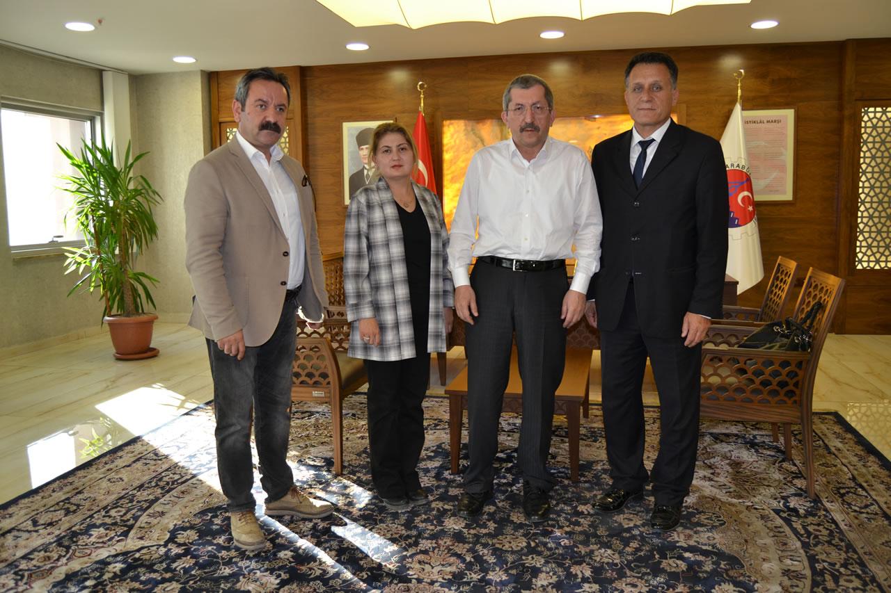 Ankara Karabüklüler Derneği Yönetiminden Başkan Vergili'ye Ziyaret