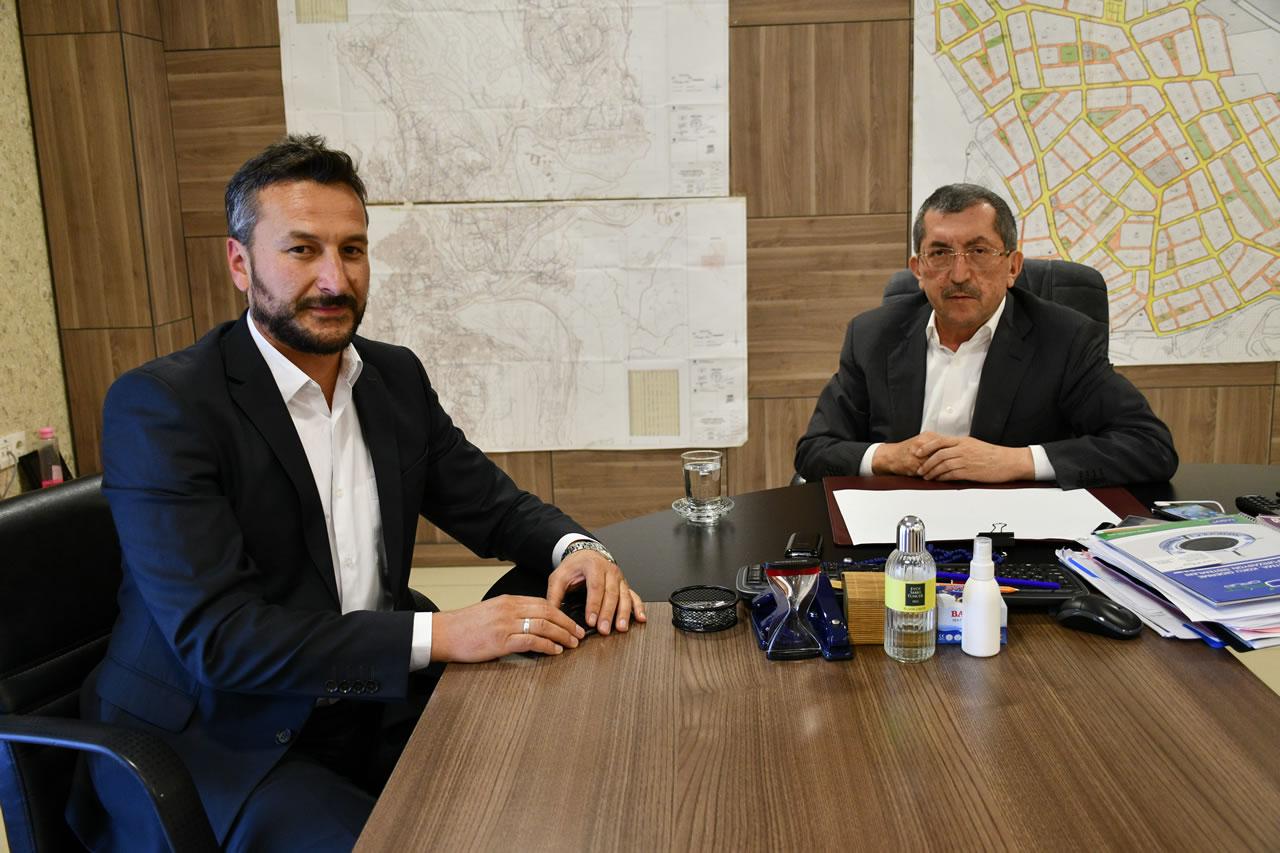 Eskipazar Belediye Başkan Yardımcısı Civa'dan Başkan Vergili´ye Ziyaret