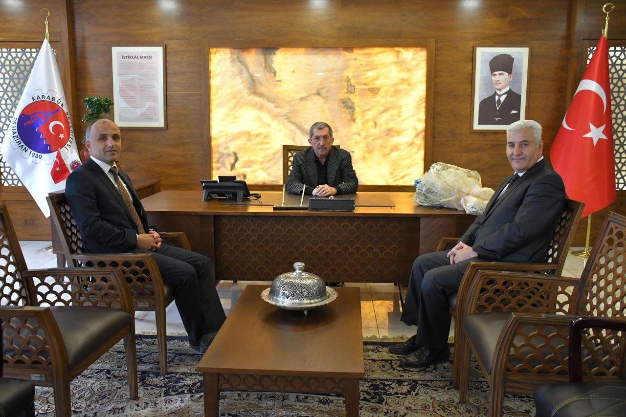 Karabük Türk Telekom İl Müdürlüğünden Başkan Vergili´ye Hayırlı Olsun Ziyareti