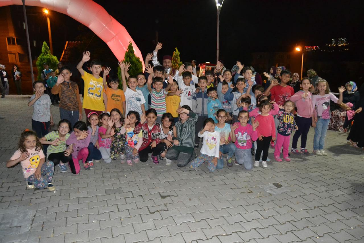 Ramazan Eğlenceleri Kurtuluş Mahallesi ile Devam Etti