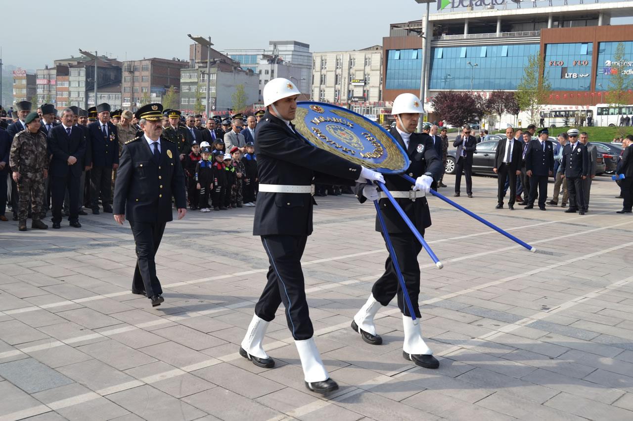 Türk Polis Teşkilatının 173. Kuruluş Yıl Dönümü Kutlandı