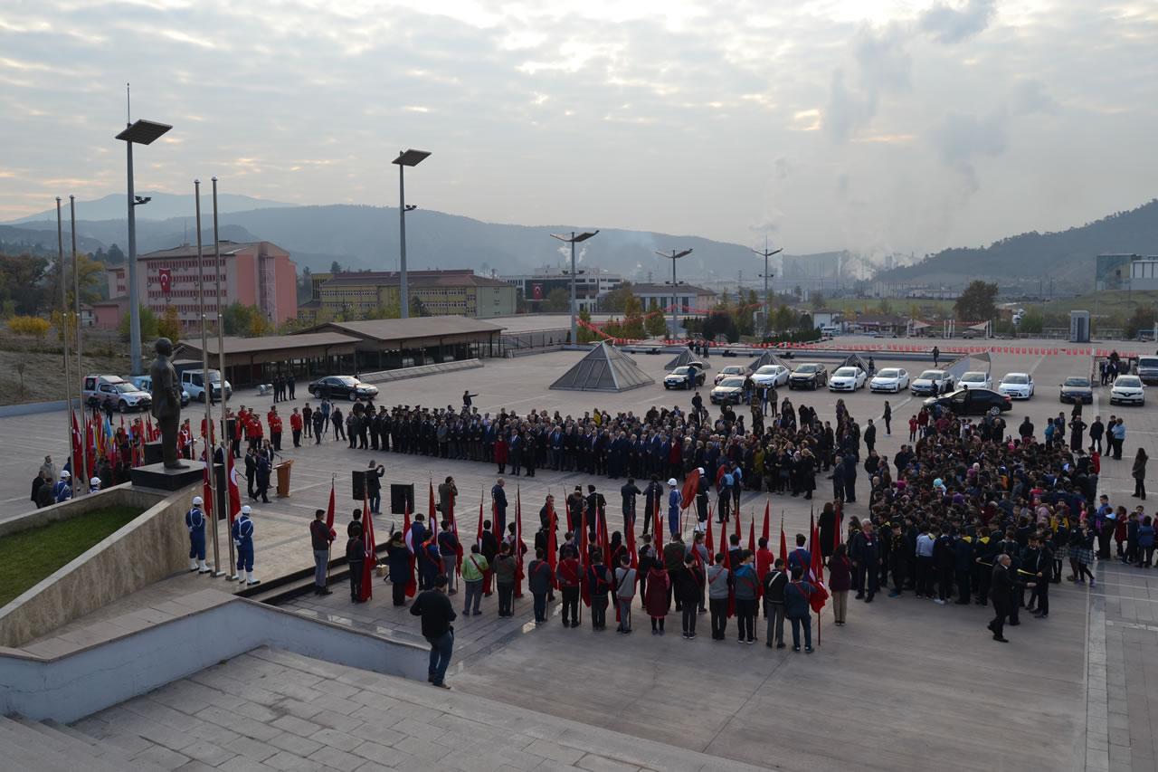 Karabük'te 10 Kasım Atatürk'ü Anma Töreni