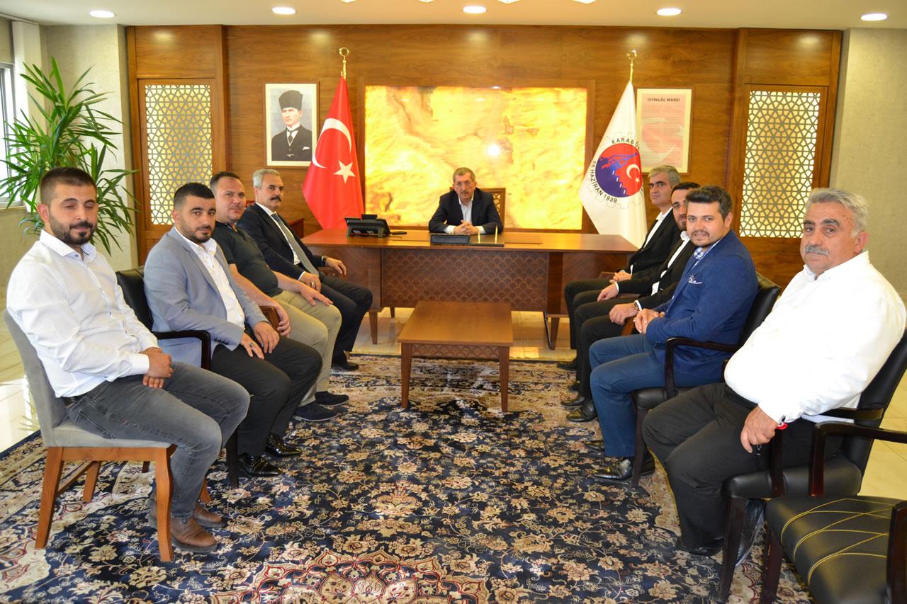 AK Parti Karabük Milletvekili Adayı Uysal´dan Başkan Vergili´ye Ziyaret