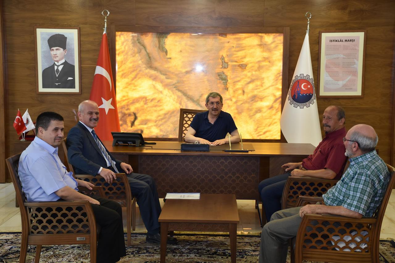 Kızılay Şube Başkanı Uzun'dan Başkan Vergili'ye Ziyaret