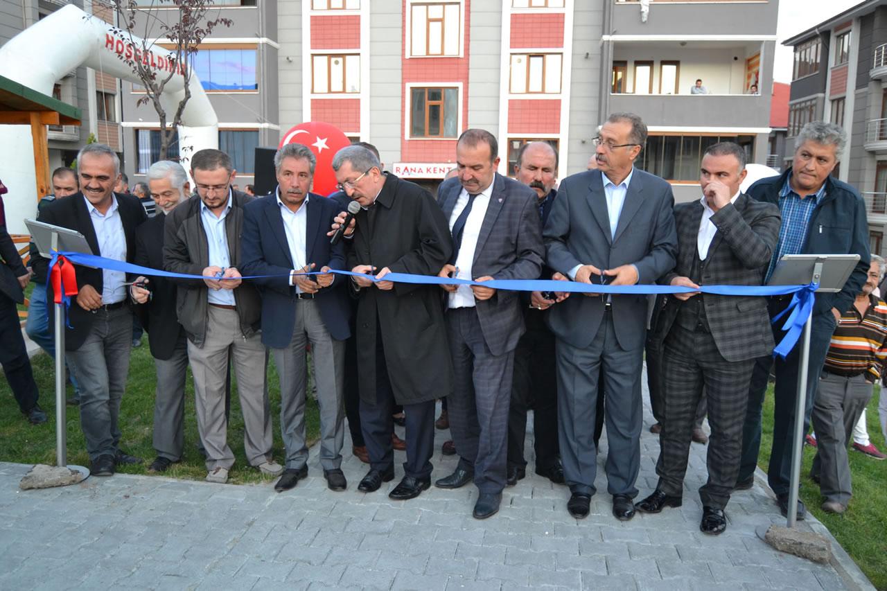 100. Yıl Mahallesinde Yeni Park Açılışı Yapıldı