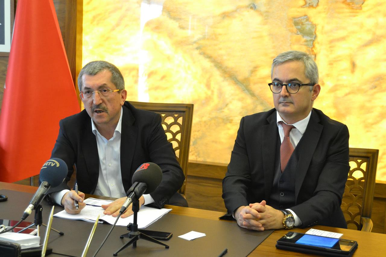 Başkan Vergili Kardemir Yönetimi ile Birlikte Ortak Basın Açıklaması Yaptı