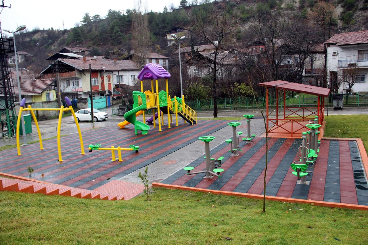 117. Park Yeni Mahallede Açılışa Hazır