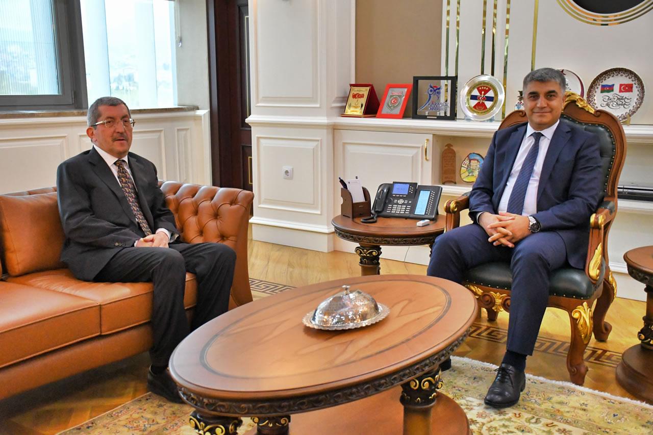 Başkan Vergili'den Karabük Valisi Sayın Gürel'e Ziyaret
