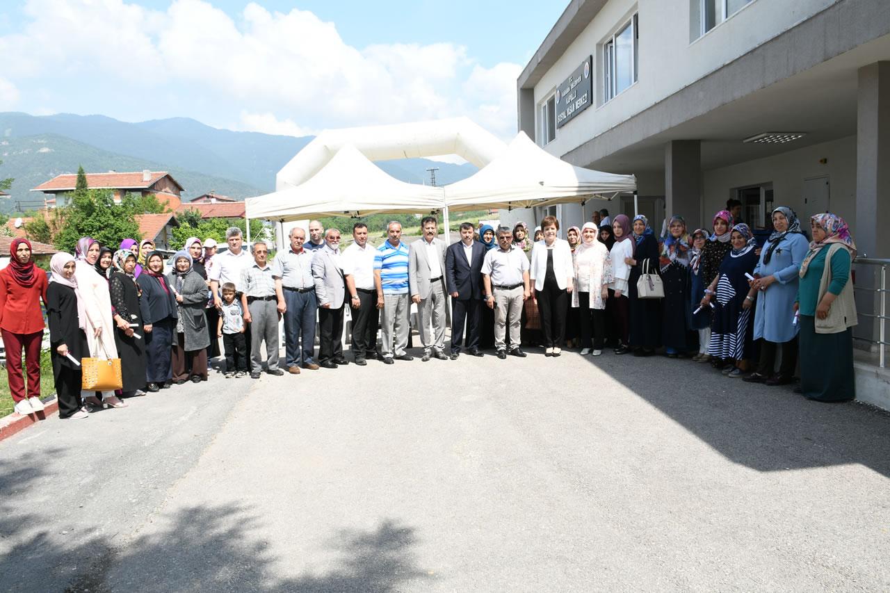 Kapullu Mahallesi SYM Kursiyerlerine Sertifikaları Verildi