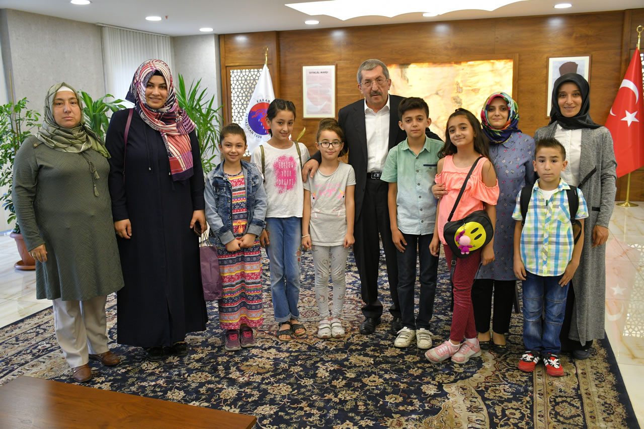 Öğlebeli İlköğretim Okulu Öğrencileri ve Velilerinden Vergili ve Berker´e Ziyaret