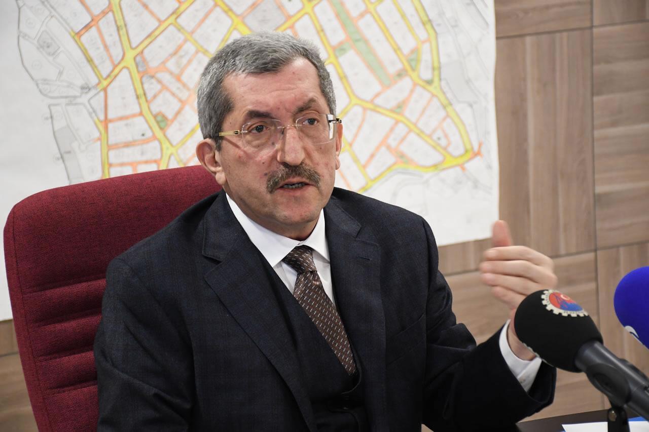 Karabük Belediye Başkanı Sayın Rafet Vergili'nin Basın Açıklaması