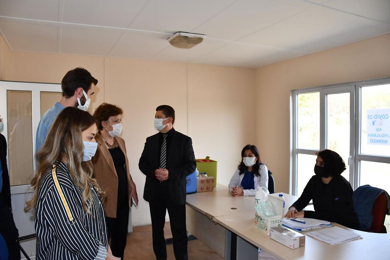 Karabük Belediyesinden Covid-19 Aşı Uygulama Merkezi