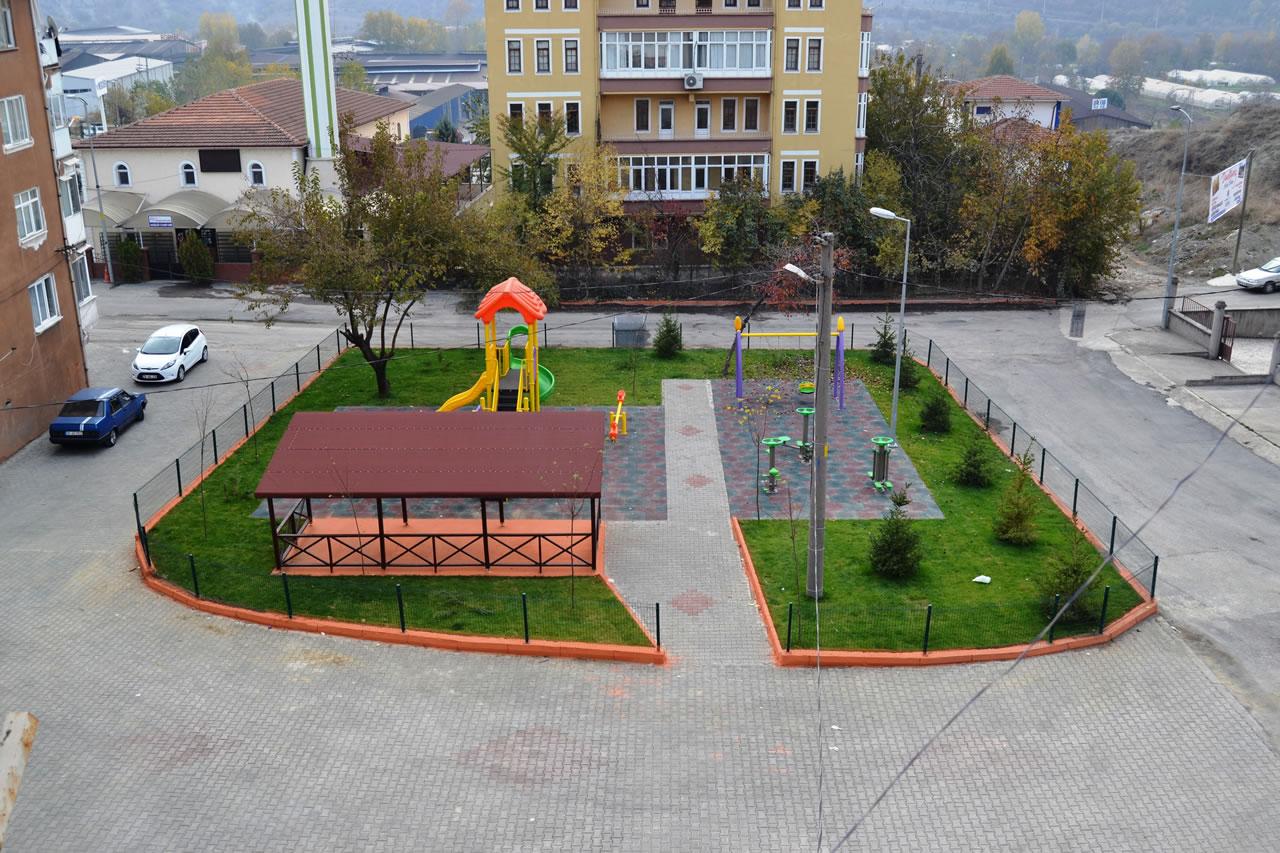 Kurtuluş Mahallesi Gökdere Parkı Açılışa Hazır