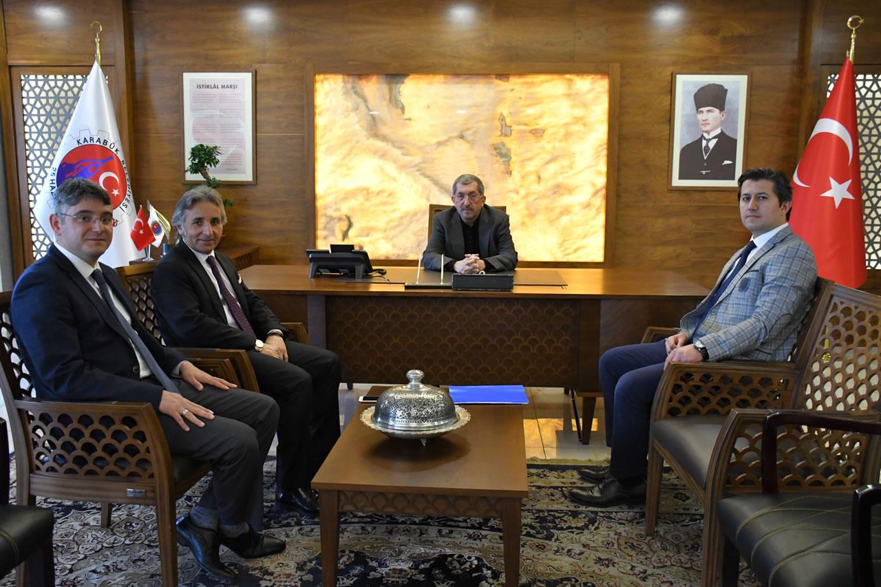 Koçaş, Serdar ve Zeytun´dan Başkan Vergili´ye Hayırlı Olsun Ziyareti