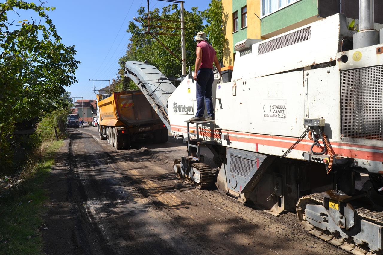 Karabük Belediyesi Yolları Yeniliyor