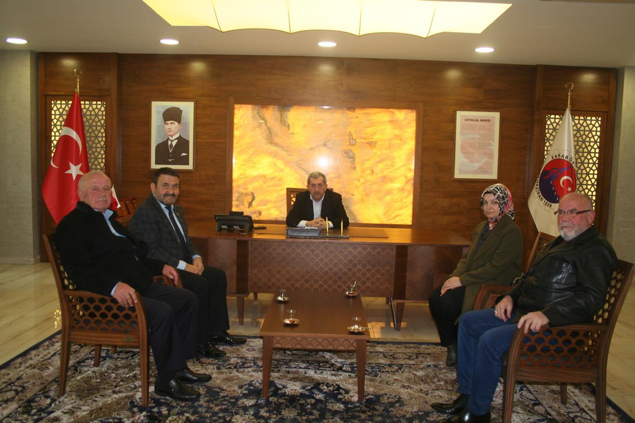 Safranbolu Emekliler Derneği'nden Başkan Vergili'ye Ziyaret
