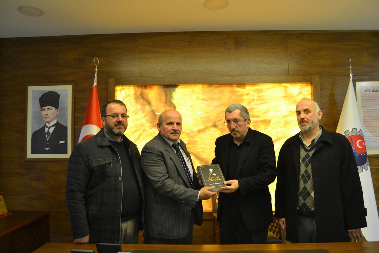 Bağımsız Türkiye Partisi Karabük İl Başkanı ve Yönetiminden Başkan Vergili´ye Ziyaret