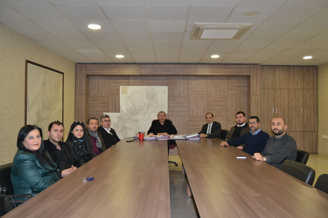 Safranbolu Milliyetçi Hareket Partisi İlçe Teşkilatından Başkan Vergili´ye Ziyaret