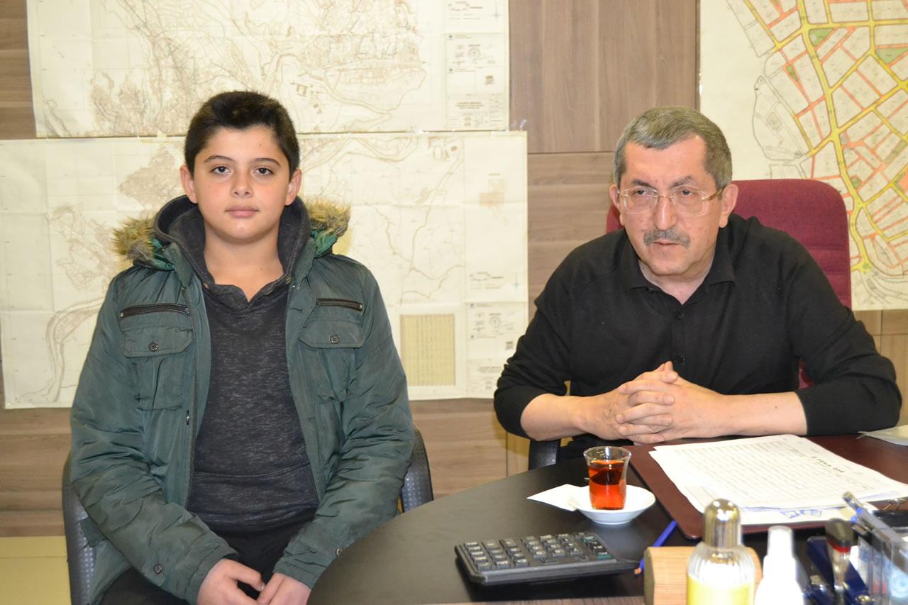 Öğrenci Başkanı Üçel'den Başkan Vergili´ye Ziyaret