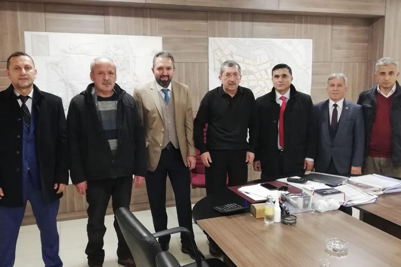 Karabük Türk Sağlık-Sen Şubesinden Başkan Vergili´ye Ziyaret