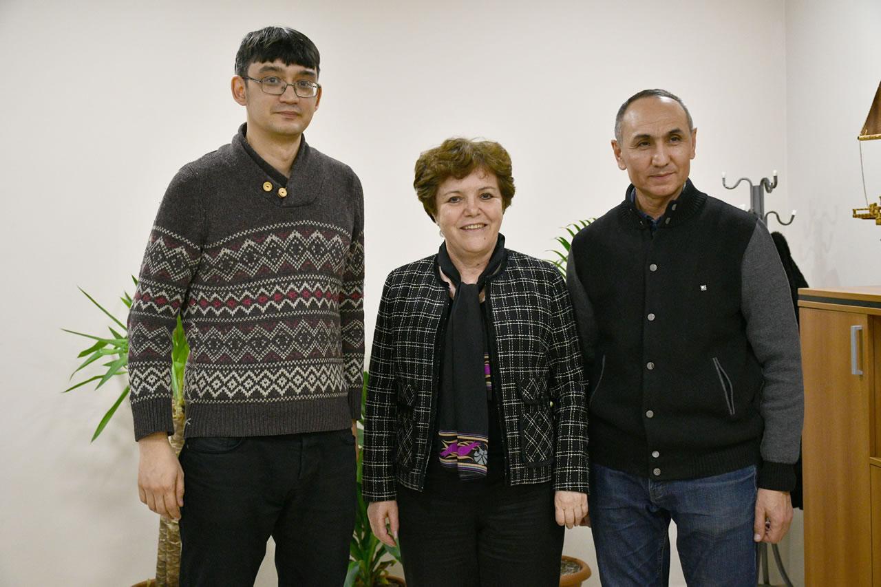 Özbekistan Ankara Büyükelçiliği Askeri Ataşesi İkramov´dan Başkan Yardımcısı Berker'e Ziyaret
