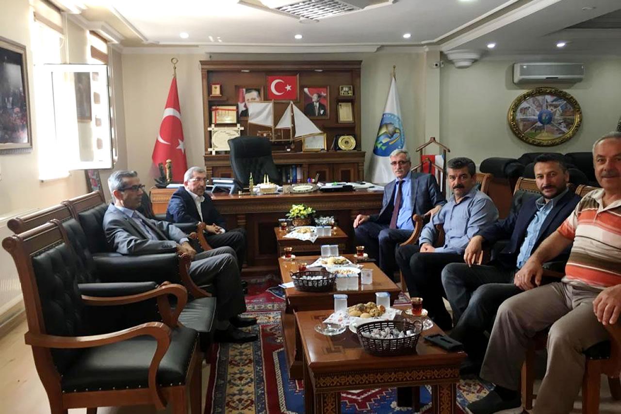 Başkan Vergili´den Eskipazar Belediye Başkanı Hüseyin Dönmez'e Ziyaret