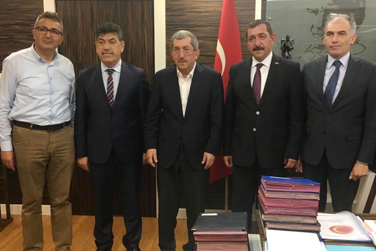 Başkan Vergili´den Kastamonu Belediye Başkanı Vidinlioğlu'na Ziyaret