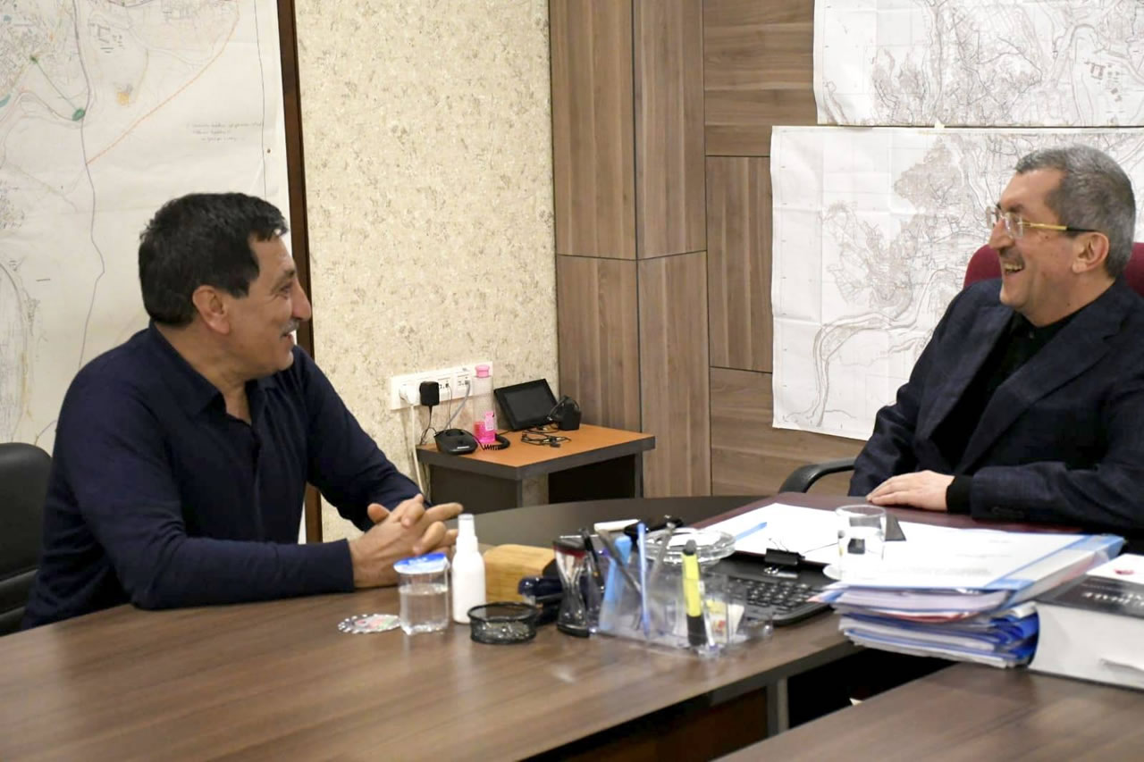 Karabük Eski Valisi Küçük'ten Başkan Vergili'ye Ziyaret
