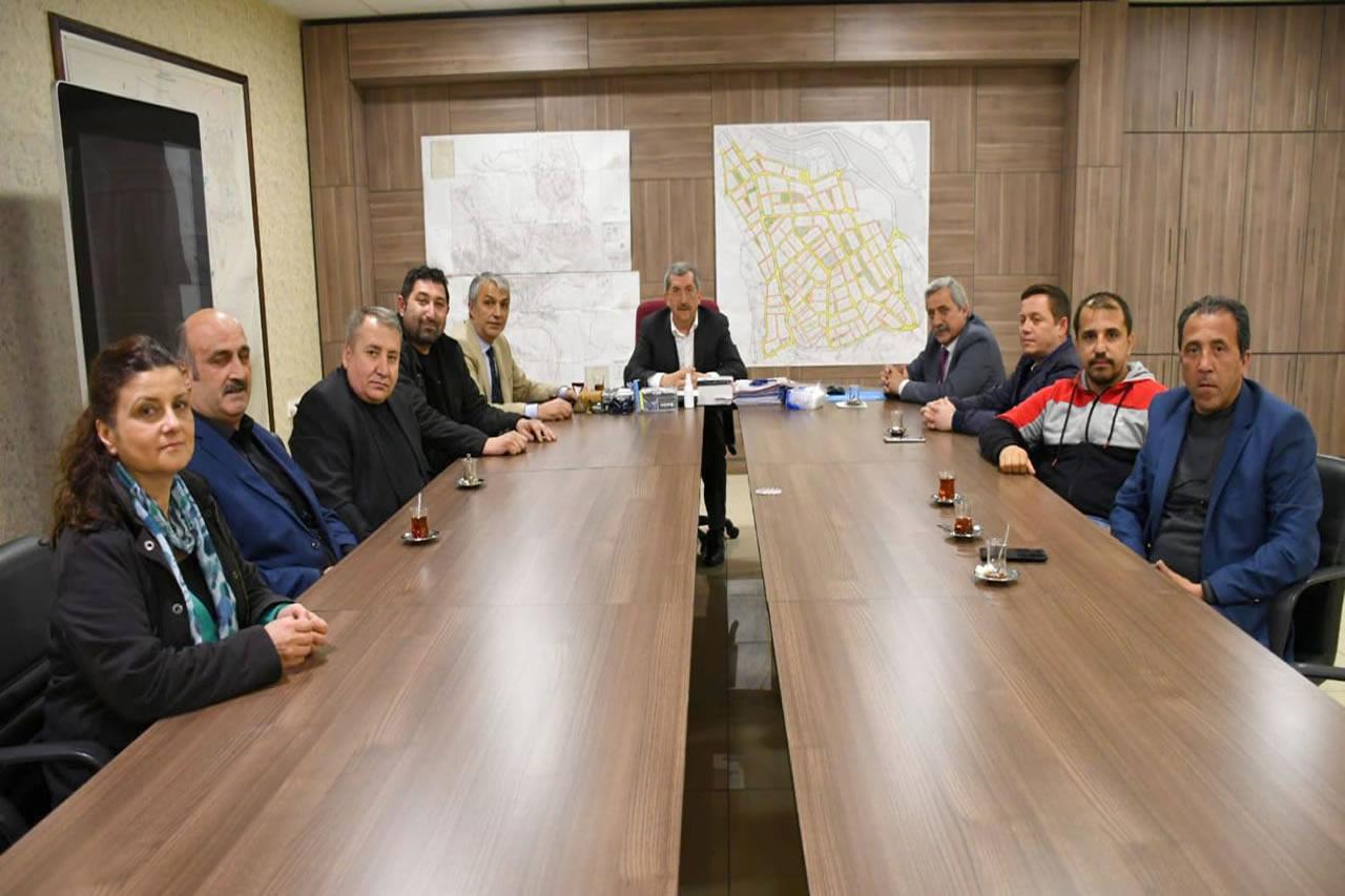 Karabük Gazeteciler Cemiyeti´nden Başkan Vergili'ye Hayırlı Olsun Ziyareti
