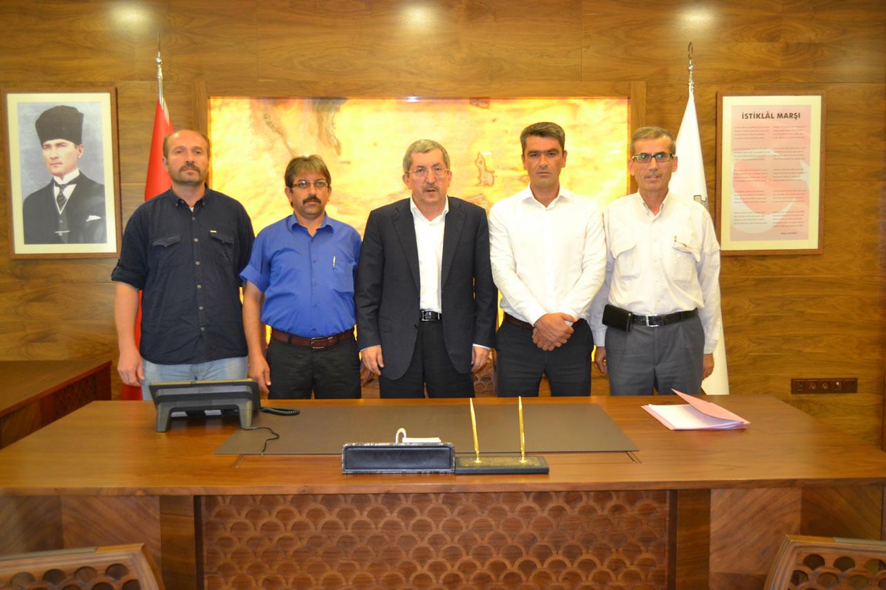 MHP Eskipazar İlçe Yönetiminden Başkan Vergili'ye Ziyaret