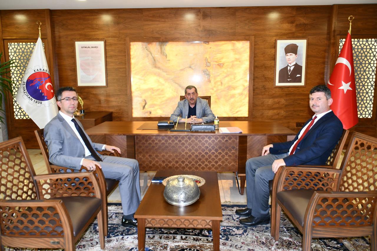 Batı Karadeniz Kalkınma Ajansından Başkan Vergili´ye Ziyaret