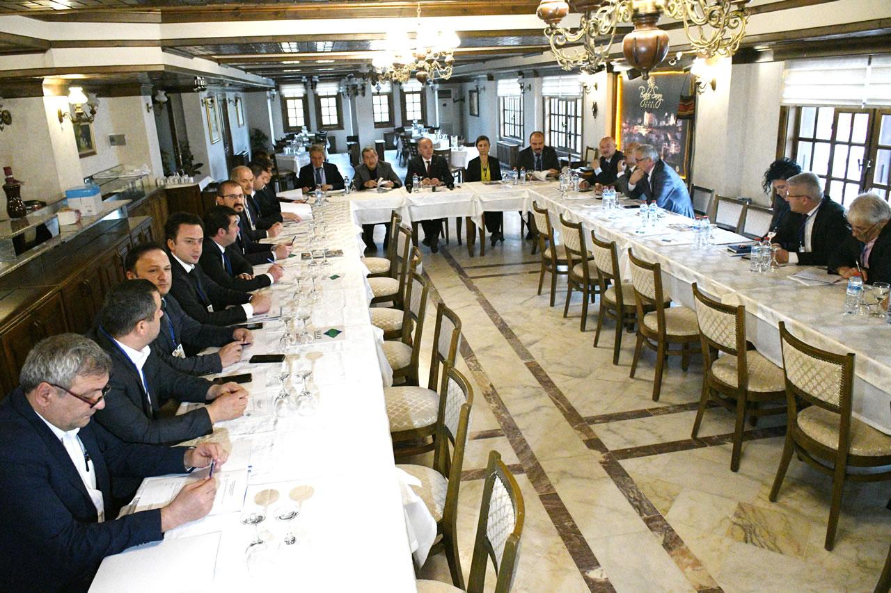 Başkan Vergili BAKAB Meclis Toplantısı ve Coğrafi İşaretler Çalıştayına Katıldı