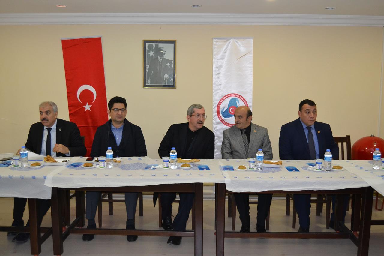 2018 Yılının İlk Muhtarlar Toplantısı Yapıldı