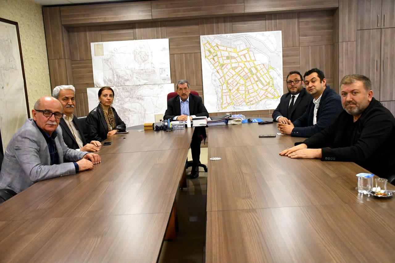 Karabük Gazeteciler ve İletişim Derneğinden Başkan Vergili'ye Hayırlı Olsun Ziyareti