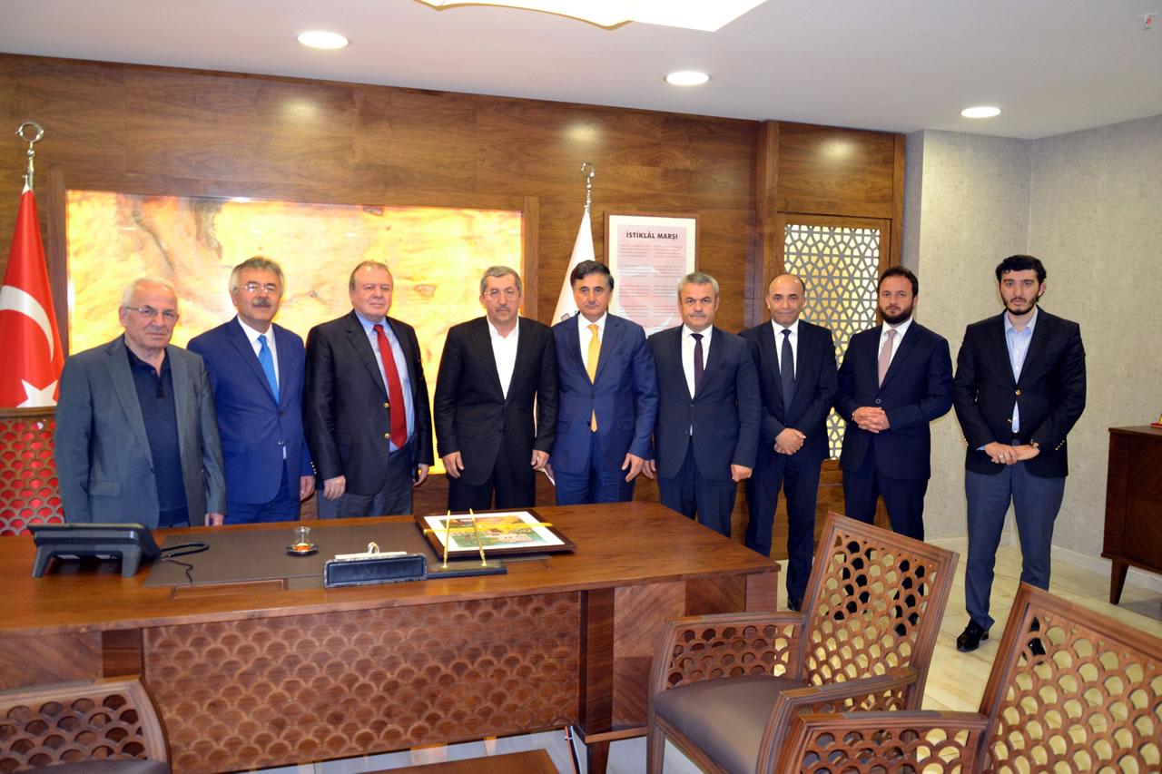 Ankara Karabüklüler Vakfından Başkan Vergili'ye Ziyaret