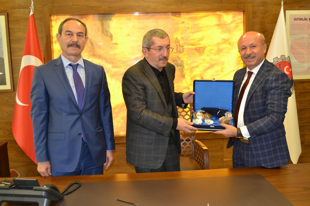 Belediye İş Sendikası'ndan Başkan Vergili'ye Ziyaret