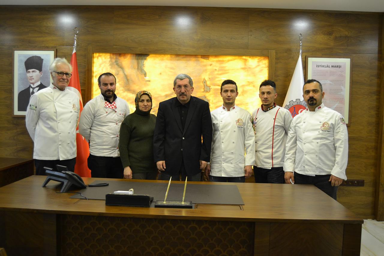 Karabük Aşçılar ve Pastacılar Derneğinden Başkan Vergili´ye Ziyaret